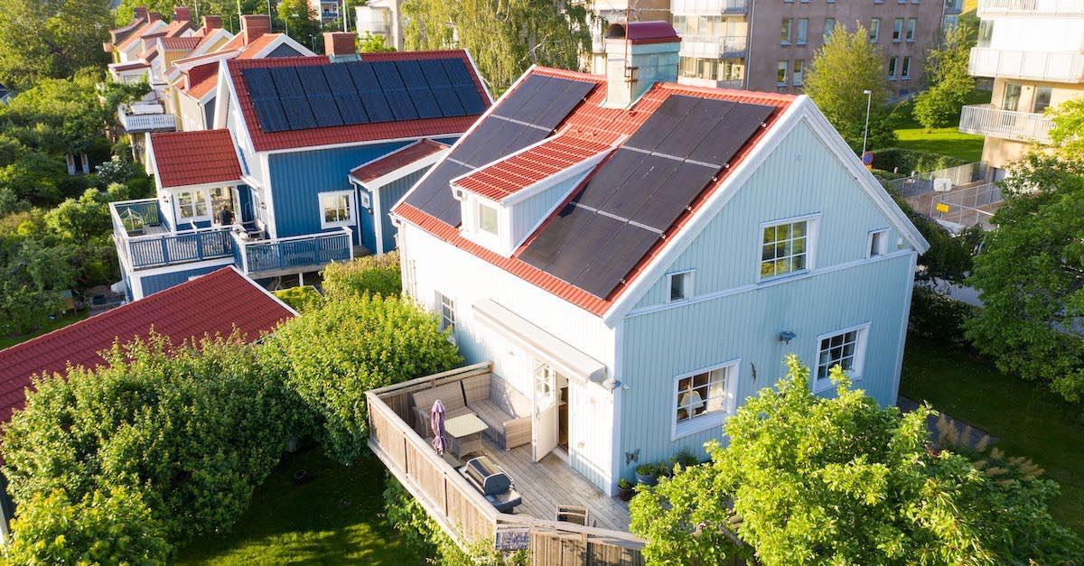 solceller i Sverige